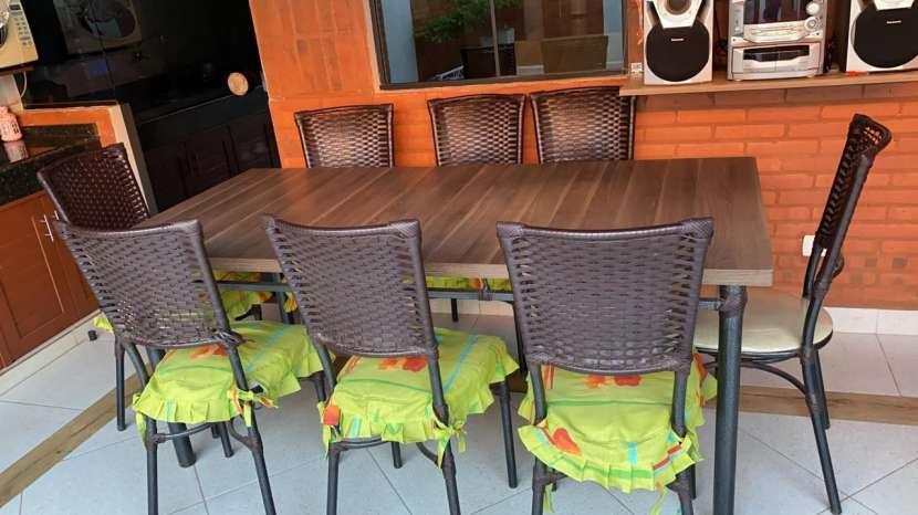Juego de comedor para 8 personas - Interior/Exterior - 2